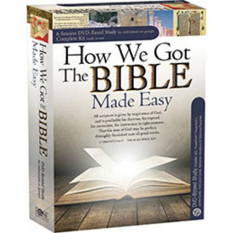 How We Got the Bible Complete DVD Kit w/ Timothy P Jones