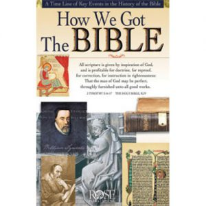 How We Got the Bible Pamphlet