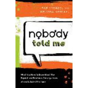 Nobody Told Me by Pam Stenzel and Melissa Nesdahl