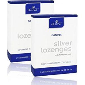 Silver Lozenges - 2 Boxes