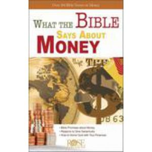 What The Bible Says About Money Pamphlet