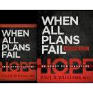 When All Plans Fail Book/Workbook Package by Paul Williams