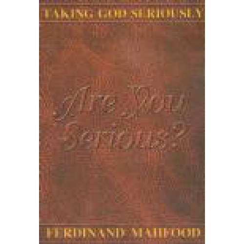 Are You Serious by Ferdinand Mahfood