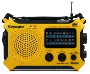 Emergency Radio with Cell Phone Charger