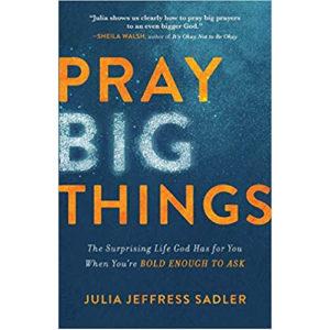 Pray Big Things by Julia Jeffress Sadler