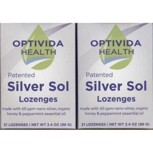 Silver Lozenges – 2 Boxes